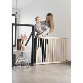 image-Ratley Baby Gate Symple Stuff Colour: Beige