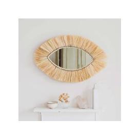 image-Kula Grass Oval Mirror