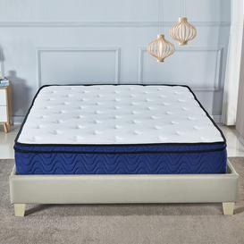 image-Walford Memory Foam Latex Mattress Symple Stuff Size: Small Double (4')