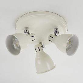 image-Cresskill 3-Light Ceiling Spotlight Mercury Row Finish: White