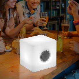 image-Cube Wire Free Speaker Stand Symple Stuff
