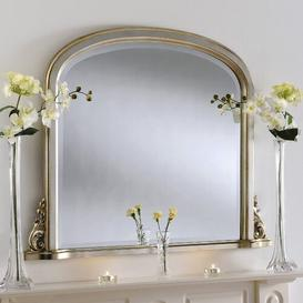 image-Ahoskie Mirror Rosalind Wheeler Size: 81cm H x 107cm W, Finish: Silver