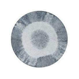 image-Lorena Canals Washable Tie Dye Round Rug - Yellow
