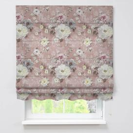 image-Firenze Monet Blackout Roman Blind Dekoria Size: 170cm L x 130cm W, Colour: Pink