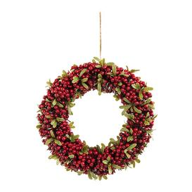 image-A by AMARA Christmas - Red Berry & Green Leaf Wreath