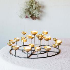 image-Round Multi Tea Light Holder