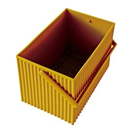 image-Hachiman - Omnioffre Carry Box with Handle - Mustard - Medium