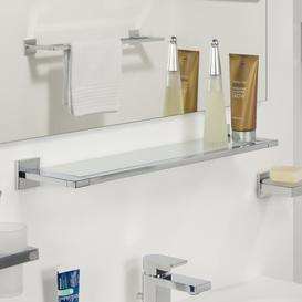 image-58.6 x 5.2cm Bathroom Shelf Tiger Finish: Chrome