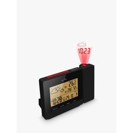 image-Acctim Neige Weather Station Digital Alarm Clock, Black