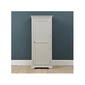 image-Chantilly Pebble Grey Single Wardrobe