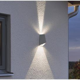 image-Imola 2-Light LED Outdoor Flush Mount Konstsmide Fixture Finish: Aluminium