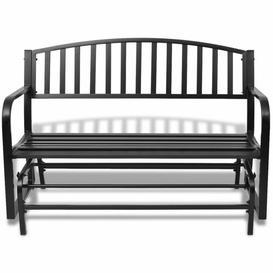 image-Guisborough Swing Steel Bench Sol 72 Outdoor