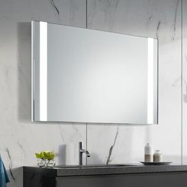 image-Jade LED Illuminated Bathroom Mirror Wade Logan Size: 63cm H x 53cm W x 3.2cm D