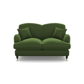 image-Kentwell 2 Seater 2 Hump in Clever Matt Velvet- Highland Green