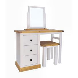 image-Birkenhead Dressing Table Set with Mirror Brambly Cottage