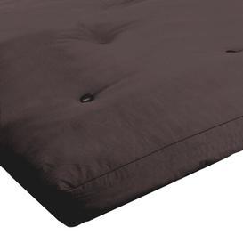 image-15cm Futon Mattress Symple Stuff Size: Single (3'), Colour: Brown