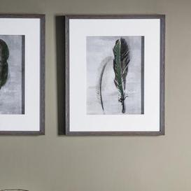 image-Feather II Framed Print Natural