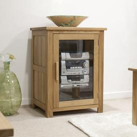 image-Homestyle Opus Oak Hi Fi Unit