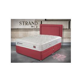 "image-Sleepeezee Perfectly British Strand 1400 Pocket Divan Set - Small Double (4' x 6'3\""), 4 Drawers, Sleepeezee_Weave Wheat"