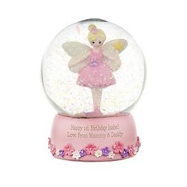 image-Personalised Fairy Snow Globe