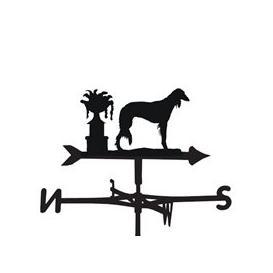 image-Weathervane in Saluki Dog Design - Medium (Cottage)