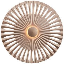 image-Lambrecht 1-Light Integrated LED Up & Downlight Mercury Row Size: 32cm x 32cm x 32cm, Colour: Brown