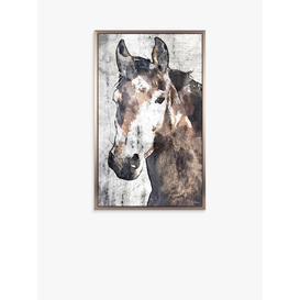 image-Irena Orlov - Stallion Framed Canvas, 79 x 49cm, Brown