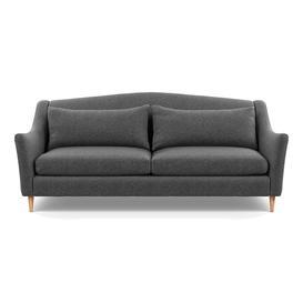 image-Heal's Somerset 4 Seater Sofa Melton Wool Granite Natural