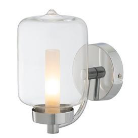 image-Ariton 1 -Light LED Bathroom Wall Sconce Mercury Row