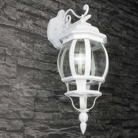 image-Loomis Outdoor Wall Lantern Brambly Cottage Frame colour: White