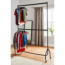 image-Two Tier Heavy Duty 5ft x 7ft Clothes Rail