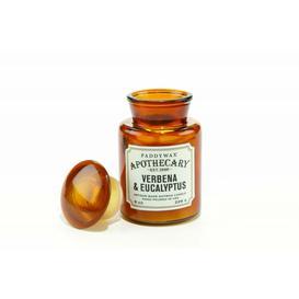 image-Apothecary Farmouse 8oz Glass Candle - Verbena Eucalyptus