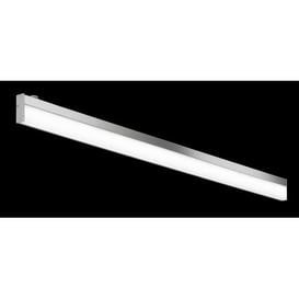 image-Mossley 1-Light LED Flush Mount Brayden Studio Size: 7.5 cm H x 120 cm W x 2.5 cm D