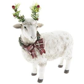 image-Doherty Sheep Mistletoe Christmas Figurine Symple Stuff