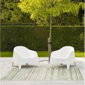 image-Cream Flatweave Cream Indoor/Outdoor Rug Brambly Cottage Rug Size: Rectangle 60 x 110cm