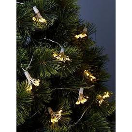 image-Festive Twinkling Starburst Fibre Optic String Lights