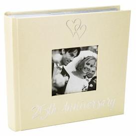 image-25th Wedding Anniversary Photo Album The Party Aisle