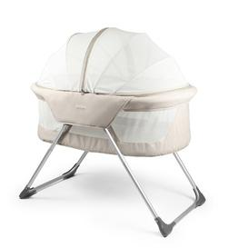 image-Daniels Travel Cot with Mattress Isabelle & Max Finish: Beige