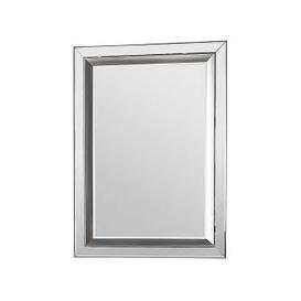 image-Madrid Rectangle Mirror - Silver