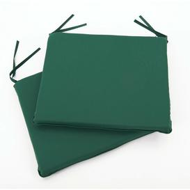 image-Dining Chair Seat Cushion Hykkon Colour (Fabric): Forest Green