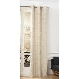 image-Castel Eyelet Blackout Curtain Madura Colour: Gilded Beige