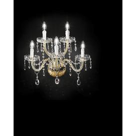 image-Lucce 5-Light Candle Wall Light