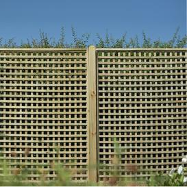 image-Kelli Wood Lattice Panel Trellis (Set of 3) Sol 72 Outdoor Size: 180cm H x 180cm W