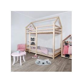 image-Benlemi Twinny Bunk Bed - White