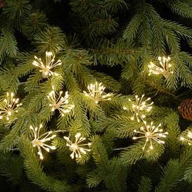 image-A by AMARA Christmas - 10 Twinkling Starburst Lights - Warm White