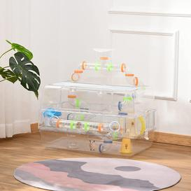 image-Anja Hamster/Gerbil Cage with Ramp