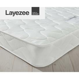 image-Layezee Open Coil Microquilt Mattress Silentnight Size: Double (4'6)