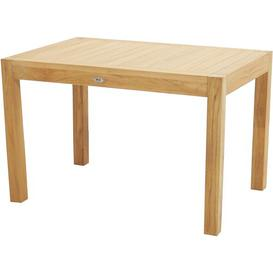 image-Hedgewick Teak Dining Table Sol 72 Outdoor Size: 75cm H x 120cm L x 80cm w