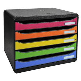 image-Mcgregor Desk Organiser Symple Stuff Colour: Black/Yellow/Blue