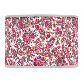 image-Polyester Drum Shade ClassicLiving Colour: Red, Size: 26cm H x 50cm W x 50cm D, Type: Ceiling/Wall